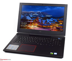 The Dell Inspiron 15 7000 7577, test unit provided by Cyberport.