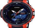 The new Casio WSD-F30RG. (Source: Casio)
