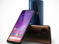 The Motorola One Vision is available from today in Brazil and features a 21:9 display. (Source: Motorola)