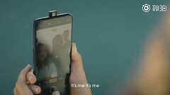 Realme X as spotted in a teaser video. (Source: Weibo)