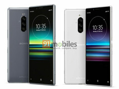 The Sony Xperia 1 is expected to be available in June. (Source: 91mobiles)
