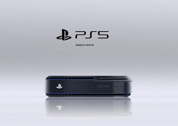 PS5 without wings. (Image source: Drewton/ResetEra)