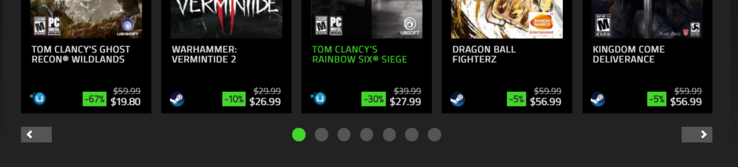 An icon to the left of the purchase price shows which service the game will be redeemable on. (Source: Razer Games Store)