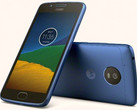 Motorola Moto G5 Android smartphone in Blue Sapphire finish