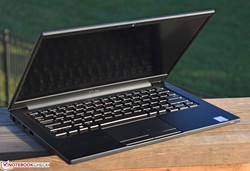 The Dell Latitude 7380. Test model provided by Dell US