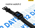 The Realme Watch 2 will have thick bezels, despite appearances to the contrary. (Image source: Realme via Gizmochina)