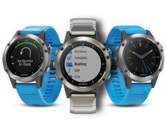 Garmin Quatix 5 marine GPS smartwatch series coming in June 2017
