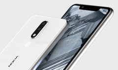 Renders of the Nokia 5.1 Plus. (Source: Tigermobiles)