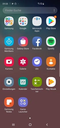 Default app drawer and preinstalled apps