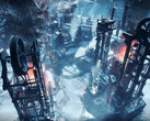 Frostpunk is set in an alternative past where humanity has been decimated by catastrophic snowstorms. (Source: 11 bit studios)