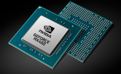 The NVIDIA MX450 promises to offer good gains over the MX350. (Image Source: NVIDIA)