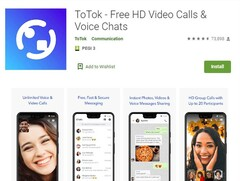 ToTok is no longer available on the Play Store (Image source: Gulfnews)