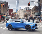 Jaguar F-Pace SUV in New York (Source: SlashGear)