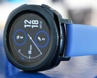 Samsung Galaxy Watch Active (pictured) will get a smaller successor without bezel ring