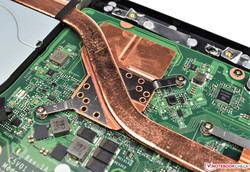 the Geforce MX150 is also soldered in