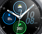 The Samsung Galaxy Watch 3 will come in 41 mm and 45 mm sizes. (Image source: @evleaks)
