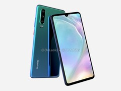 A recent render for the Huawei P30 Pro. (Source: OnLeaks)