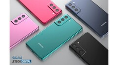 The latest S21 FE renders. (Source: Samsung)
