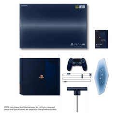 The Sony PS4 Pro 500 Million Limited Edition bundle. (Source: Sony)