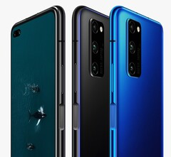 The Honor V30 Pro brings sports the powerful Kirin 990 5G chipset fabricated on the latest 7nm EUV process. (Source: Honor)