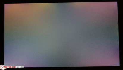 Some minor, yet noticeable backlight bleed on black screens