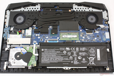 HP Pavilion Gaming 17 cooling solution
