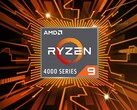 The AMD Ryzen 9 4900U appears to have a 4.3 GHz boost clock. (Image source: AMD)
