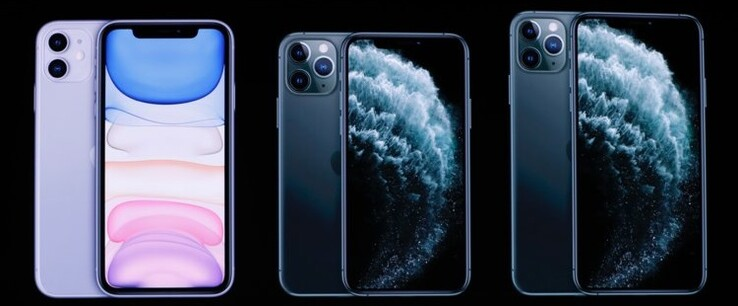 iPhone 11, iPhone 11 Pro, and iPhone 11 Pro Max. (Image source: Business Insider)
