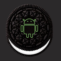 Android 8 'Oreo' logo. (Source: Google)