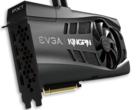 The liquid cooled EVGA GeForce RTX 3090 KINGPIN looks set to break performance records (Image source: EVGA)