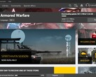 Armored Warfare 0.31 update installing (Source: Own)