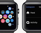 Instagram app on Apple Watch, discontinued as of early April 2018
