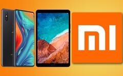 The Xiaomi Mi Mix 3 and Mi Pad 4 should be getting successors in 2021. (Image source: Xiaomi - edited)