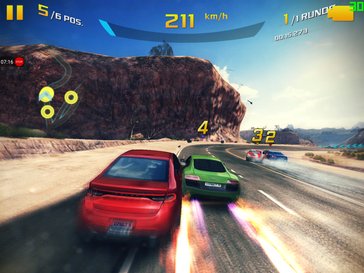 Asphalt 8 Airborne on the Samsung Galaxy Tab S3