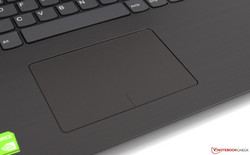 the touchpad of the Lenovo IdeaPad 320-15IKBRN