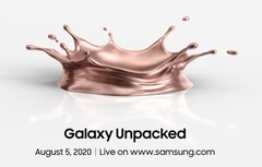 The next Galaxy Unpacked event will be live streaming at 10 a.m. ET August 5. (Image: Samsung)