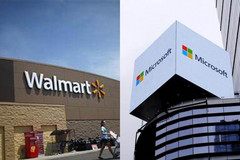 Walmart turns to Microsoft for help with cloud technologies. (Source: The Financial Express)