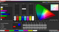 CalMAN color space – Standard