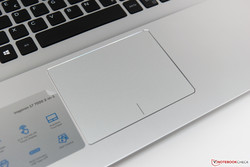 Touchpad in the Dell Inspiron 17-7786