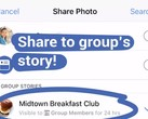 Facebook Group Stories now available worldwide (Source: Facebook Community)