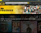 IMDb Freedrive now live, access limited to the US