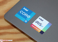 Intel Core i5-1135G7 with the Iris Xe Graphics G7 80EUs