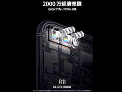 Oppo R11 teaser shows dual-camera setup with 2X optical zoom