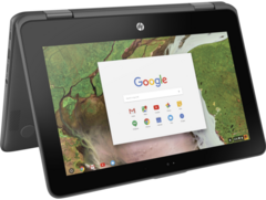The HP Chromebook x360 11 is now available for general purchase. (Source: HP)