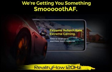 Poco X2 will feature a 120 Hz RealityFlow display. (Image Source: Techdroider on Twitter)