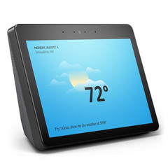 The new Amazon Echo Show features a large 10-inch display. (Source: Amazon)