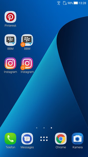 Asus ZenFone 4: Twin Apps Homescreen