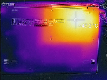 Thermal map (load, bottom)