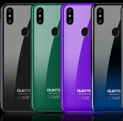 Oukitel sells the C15 Pro in four colours