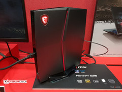 MSI Vortex G25VR mini PC hinting at September launch window for 8th generation Intel Core i7